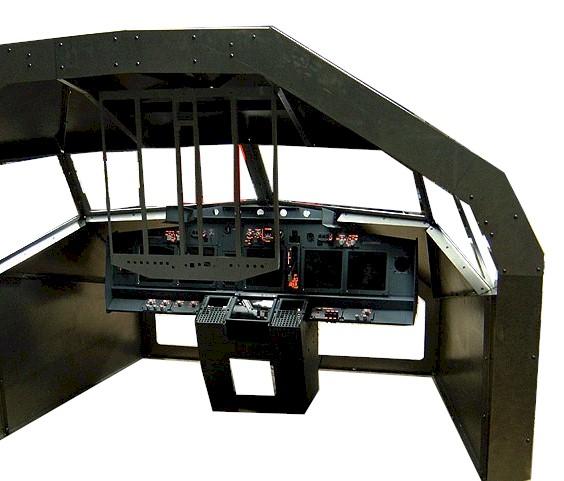 ボーイング737フライトデッキ